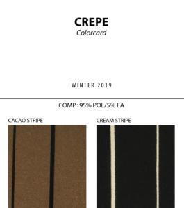 Crepe - Colorcard