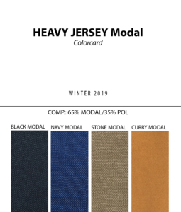 Heavy Jersey Modal - Colorcard