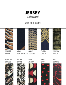 Jersey - Colorcard