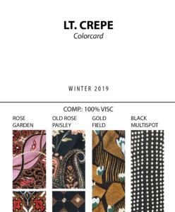 Lt. Crepe - Colorcard