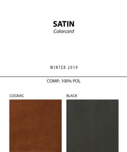 Satin - Colorcard