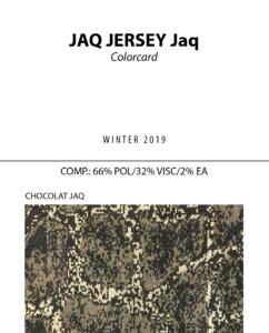 Jaq Jersey Jaq - Colorcard