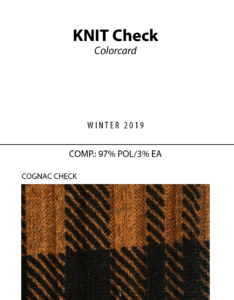 Knit Check - Colorcard