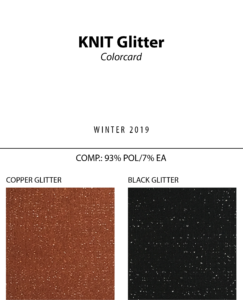 Knit Glitter - Colorcard