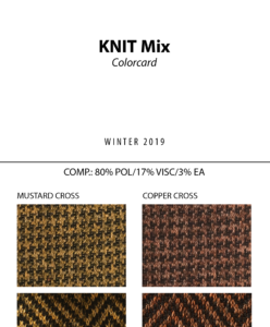 Knit Mix - Colorcard