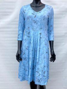 SUSANNE Blue Paisley